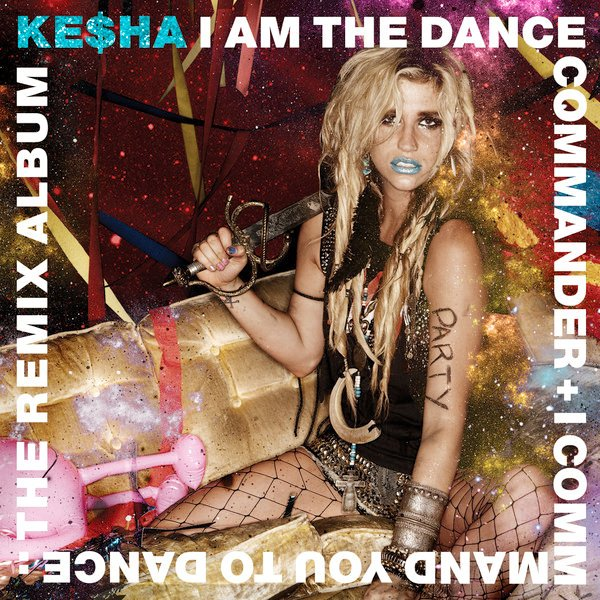 Cover Art and Tracklisting of Ke$ha's 'Dance Commander' Album