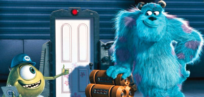 Sully and Mike in 'Monsters, Inc.'