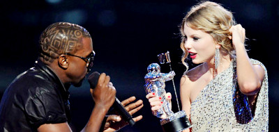 Kanye West stole Taylor Swift's MTV VMAs moment