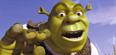 Shrek in 'Shrek'
