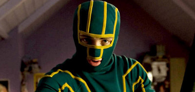 Ordinary people takes the role of superheroes in 'Kick-Ass'