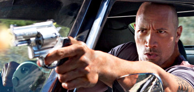 The Rock stars as Driver in 'Faster'