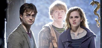 Daniel Radcliffe stars as Harry, Rupert Grint stars as Ron, Emma Watson stars as Hermione in 'Deathly Hallows: Part I'