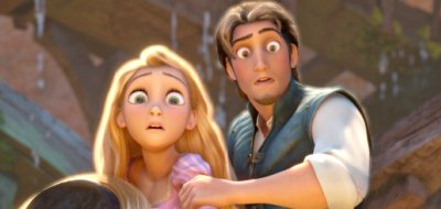 Mandy Moore voices Rapunzel, Zachary Levi voices Flynn in 'Tangled'
