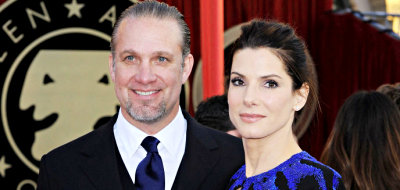 Sandra Bullock and Jesse James before the cheating story surfaces