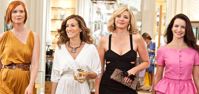 Kristin Davis, Sarah Jessica Parker, Kim Cattrall and Cynthia Nixon in 'Sex and the City 2'