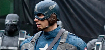 Chris Evans is a super soldier in 'Captain America: The First Avenger'