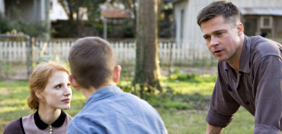 Brad Pitt has a complicated relationship with his son in 'The Tree of Life'