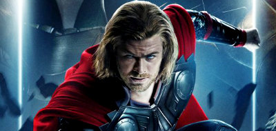 A God of Thunder is cast down to Earth in 'Thor'