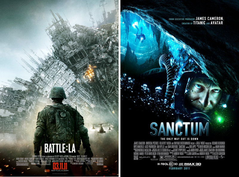 'Battle: Los Angeles' and 'Sanctum' Premiere Were Postponed in Japan