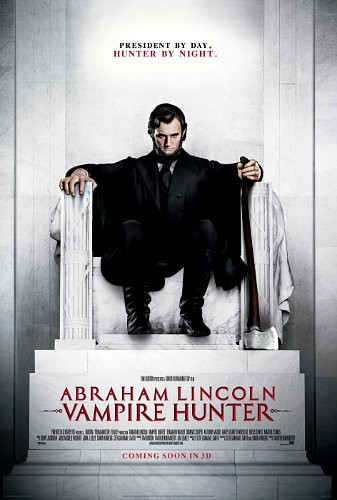 'Abraham Lincoln: Vampire Hunter' Gets New Poster and Behind-the-Scene Footage