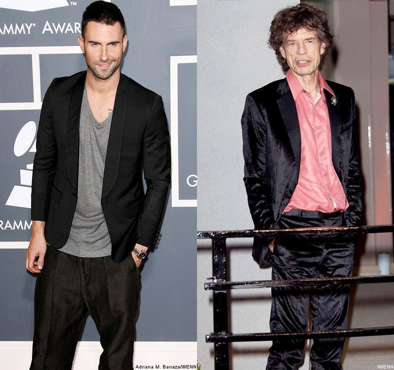 Adam Levine Teases Mick Jagger's Cameo in 'Moves Like Jagger' Video