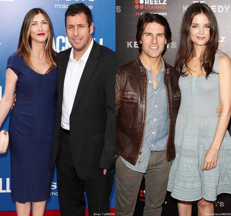 Adam Sandler Admits to Suggesting Wife Swap With Tom Cruise