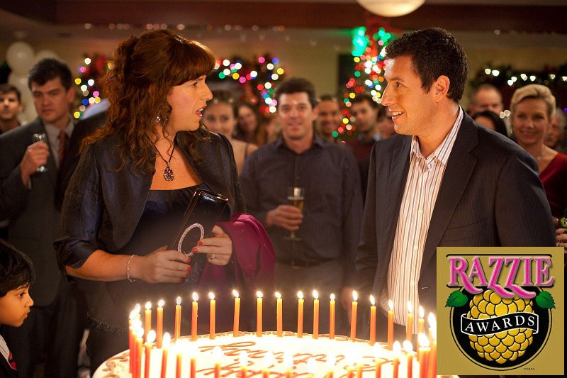 Adam Sandler's 'Jack and Jill' Breaks Record by Sweeping All Categories at 2012 Razzies