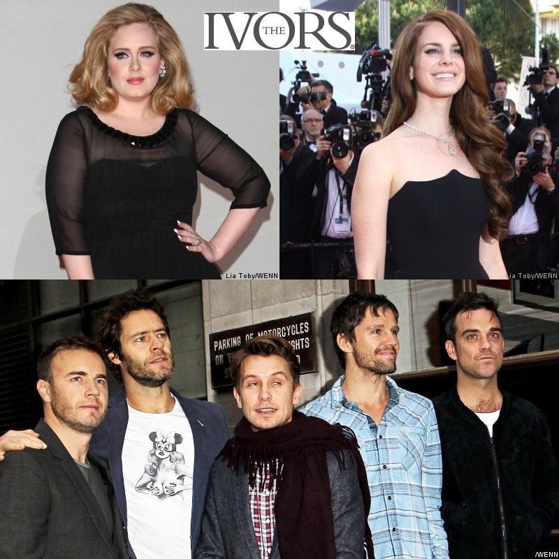 Adele, Lana Del Rey and Take That Win Big at Ivor Novello Awards
