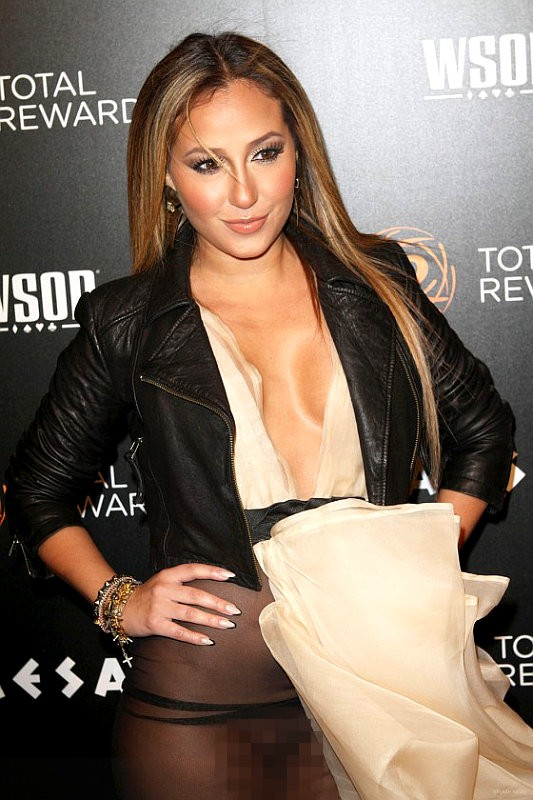 Adrienne Bailon Reacts to Wardrobe Malfunction: I'm Upset About What My Parents Might Think