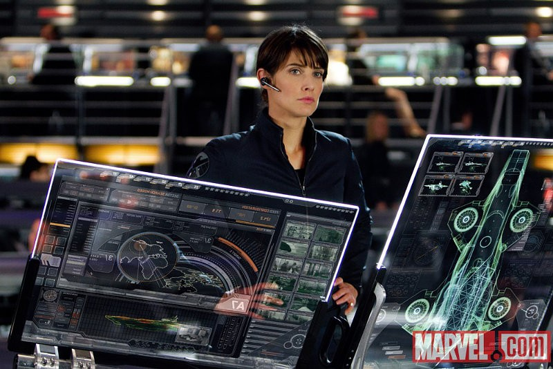 First Look at Agent Maria Hill in 'Avengers' Unveiled as New Trailer Breaks iTunes Record