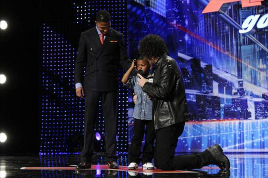 'AGT' Video: Howard Stern Makes a Boy Cry, Admits the Job Is 'Too Rough' for Him