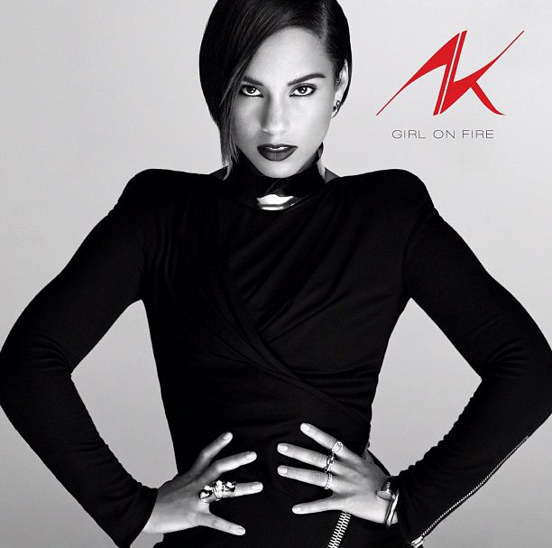 Alicia Keys Releases 'Girl on Fire' Cover Art, Announces Release Date