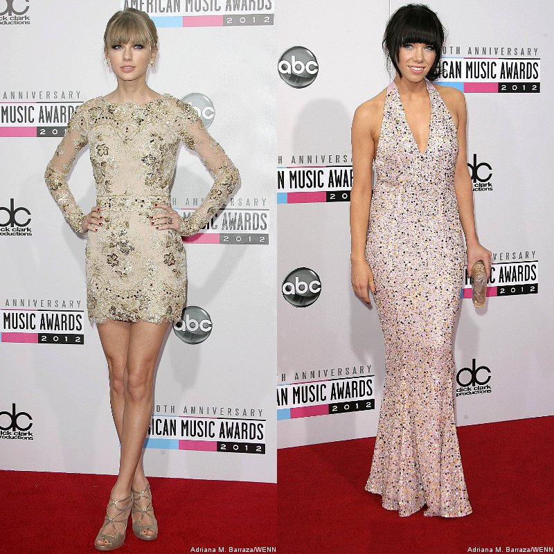 AMAs 2012: Taylor Swift, Carly Rae Jepsen and More Glam Up the Red Carpet