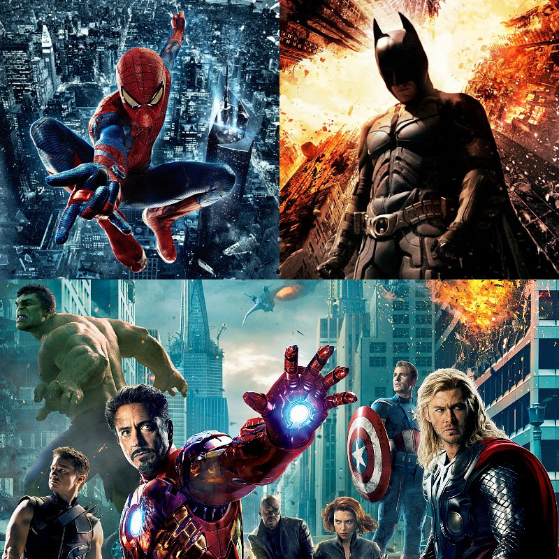 'Amazing Spider-Man', 'Dark Knight Rises', 'Avengers' Are Films With Most Mistakes in 2012