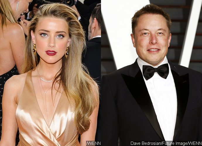 New Fling Amber Heard Hangs Out With Billionaire Elon