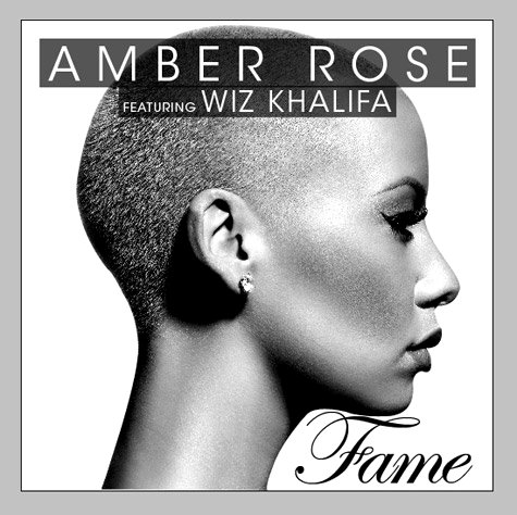 Amber Rose's Debut Single 'Fame' Ft. Wiz Khalifa Unleashed