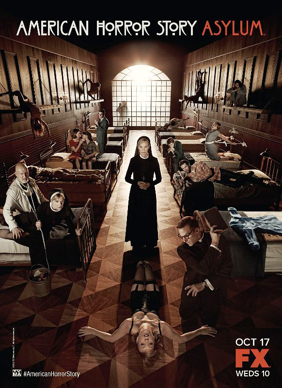 'American Horror Story: Asylum' Debuts New Disturbing Poster and Teaser