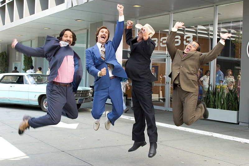 Report: First 'Anchorman 2' Teaser to Be Attached to 'The Dictator'