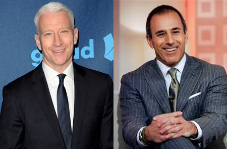 report anderson cooper is wanted to replace matt lauer on