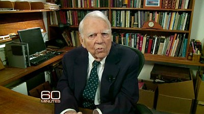 Video: Andy Rooney Insists He's Not Retiring on His Last '60 Minutes' Appearance