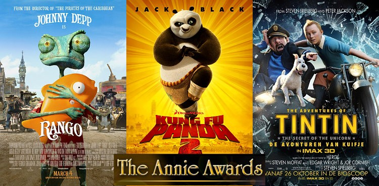 2012 Annie Awards Winners Include 'Rango', 'Kung Fu Panda 2' and 'Tintin'