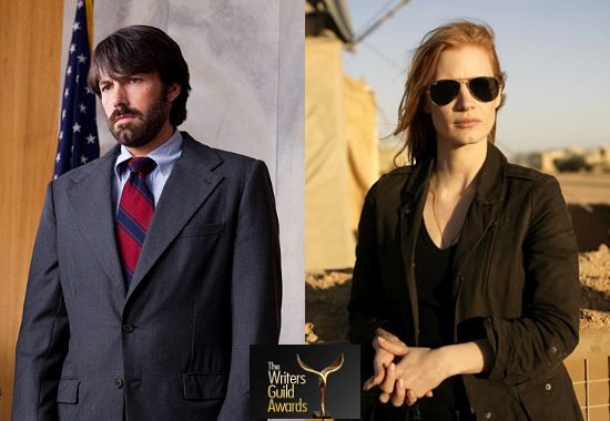 'Argo' and 'Zero Dark Thirty' Win Big at 2013 Writers Guild Awards