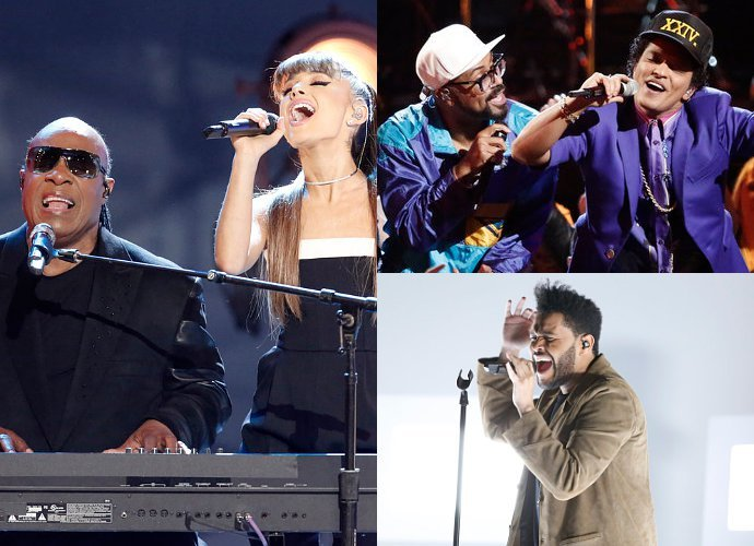 Ariana Grande, Bruno Mars, The Weeknd and More Perform on 'The Voice' Finale