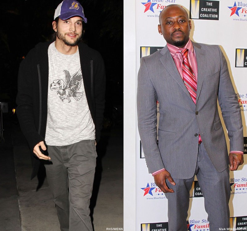 Ashton Kutcher and More Join Protest Against SOPA, Omar Epps Unaffected