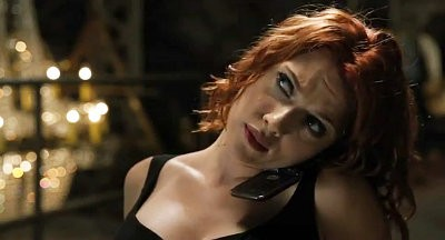 First 'Avengers' Clip: Black Widow Knocks Russian Thugs Down With Arms Tied