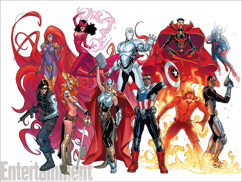 New Avengers Include Black Captain America, Superior Iron Man, and Female Thor