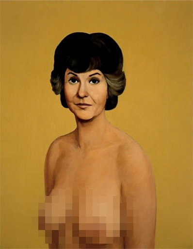 Bea Arthur's Topless Painting Reaches Nearly $2M at Christie's Auction
