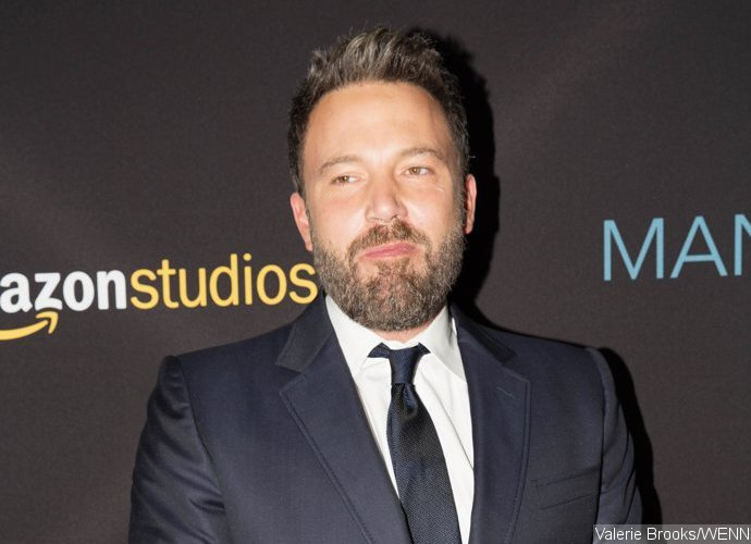 Ben Affleck and GF Lindsay Shookus Spotted Entering Jewelry Store in NYC
