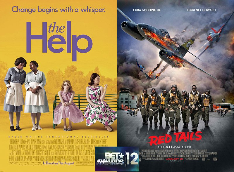 BET Awards 2012: 'The Help' and 'Red Tails' to Compete for Best Movie
