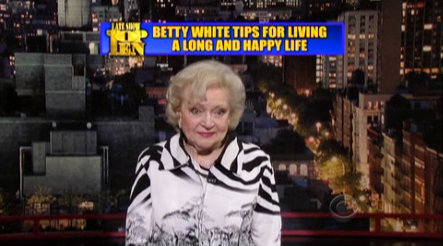 Video: Betty White Takes a Jab at Anthony Weiner on 'David Letterman'