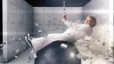 Betty White Spoofs Miley Cyrus' 'Wrecking Ball' Video in Promo for Newly Revived Show