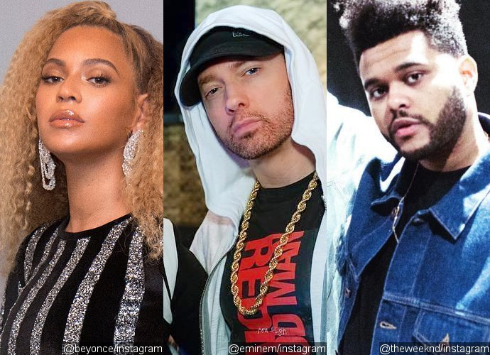 Beyonce, Eminem and The Weeknd Set to Headline Coachella 2018