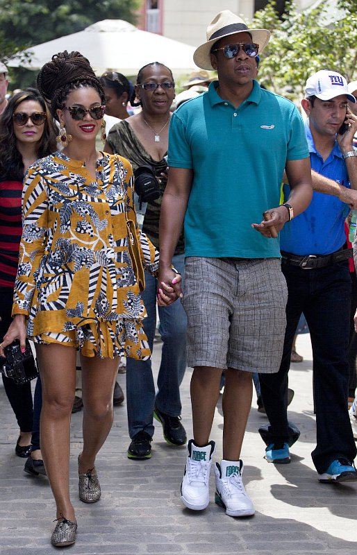 Beyonce Knowles and Jay-Z Visit Cuba on Fifth Wedding Anniversary