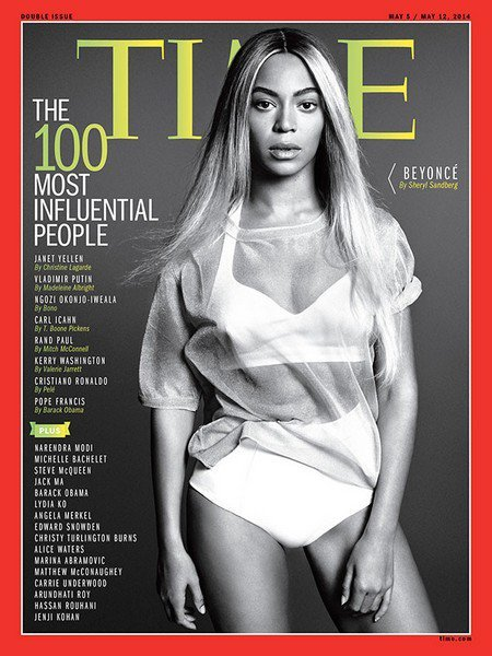 Beyonce Knowles Is Time Magazine's 'Most Influential People' Cover Girl