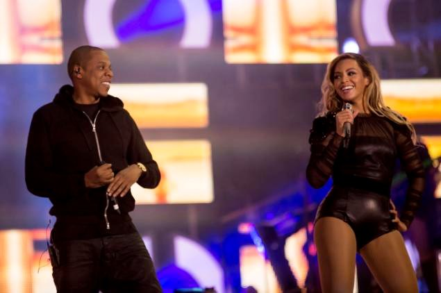 Beyonce Knowles Joined by Jay-Z at 'Chime for Change' Concert