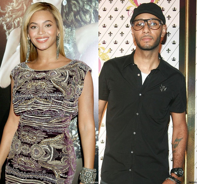 Beyonce and Swizz Beatz Visit Kanye and Jay-Z's 'Watch the Throne' Store