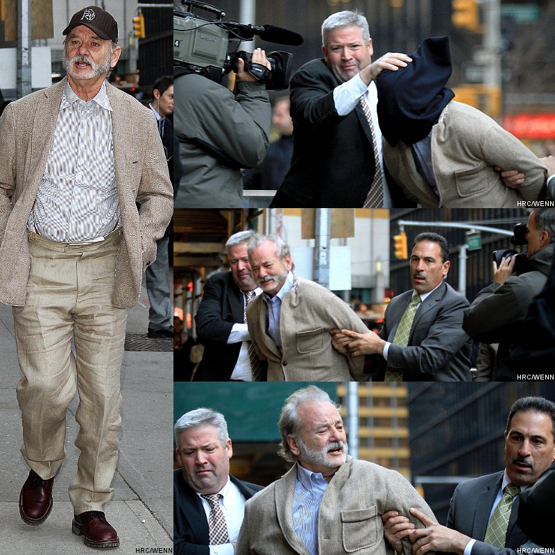 Video: Bill Murray 'Kidnapped' to Come to David Letterman's Show