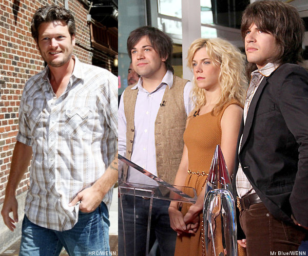 Blake Shelton and The Band Perry Added to 2012 Grammy Awards