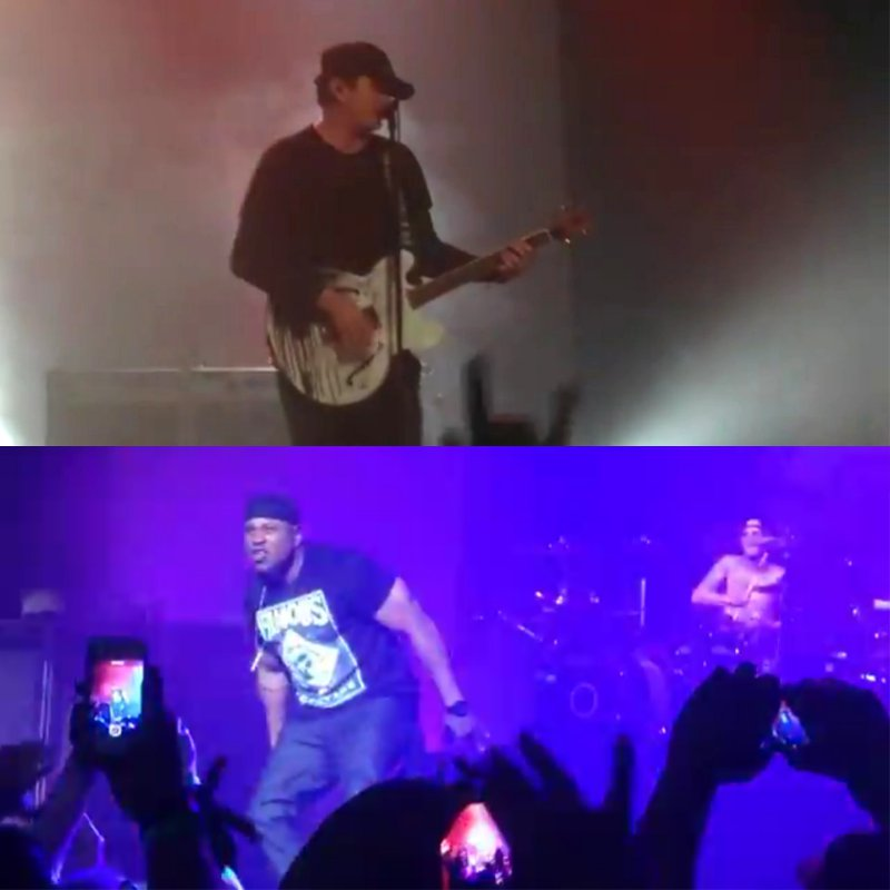 Blink-182 Joined by LL Cool J to Perform at Los Angeles Show
